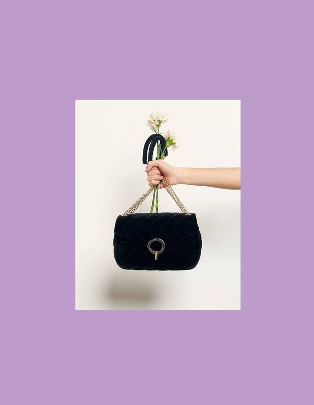 金属链条女包 - My Yza Bag - Sandro Paris